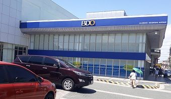 BDO banking hours and branches