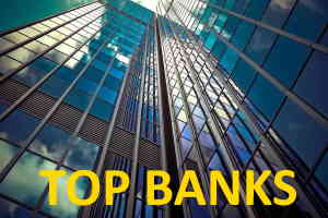 lists of top banks