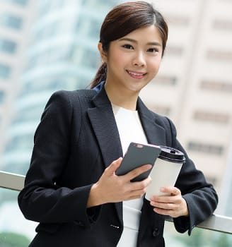 girl for digital banks in the Philippines